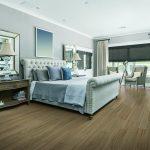 Modern master bedroom | Reinhold Flooring