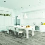 White kitchen | Reinhold Flooring