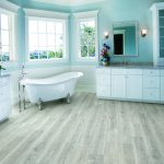 Luxury Master Bathroom with standing bath tub | Reinhold Flooring