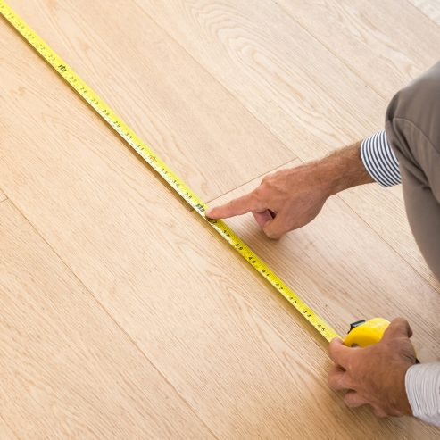 Floor measurement | Reinhold Flooring