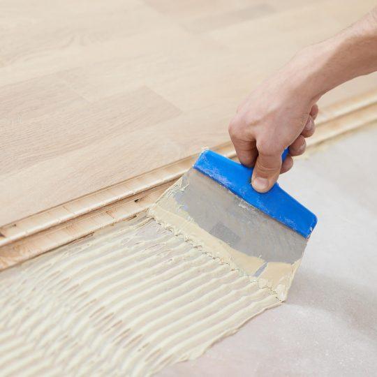 Hardwood installation | Reinhold Flooring